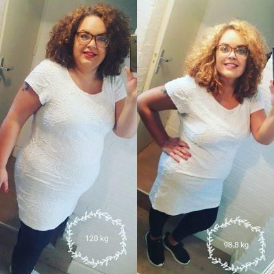 #Blog 7     YES! Al 20kg afgevallen!