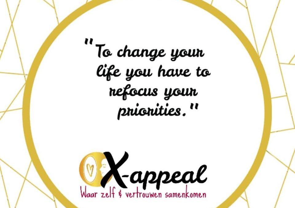 #58 Leg jij de juiste focus bij de eerste prioriteiten?