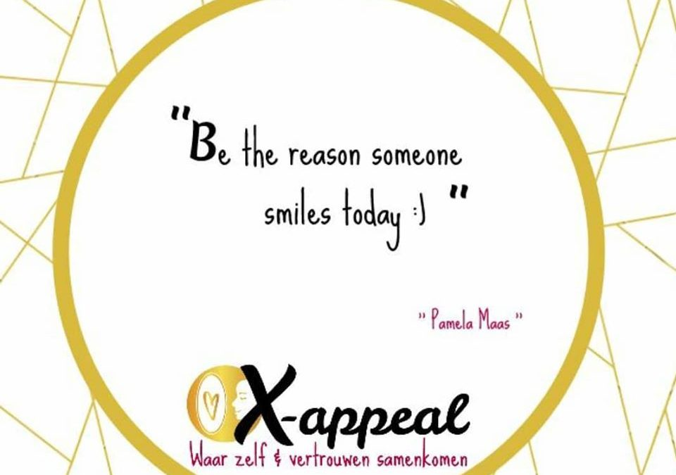 #64 Be the reason someone smiles today :)
